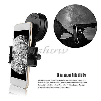 New Durable Astronomical Telescope Mobile Phone Camera Mount Holder Adapter Clip