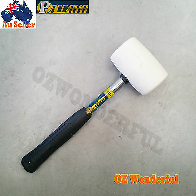 PACCAYA RUBBER HAMMER SOFT FACE HEAVY BLOW MALLET NON SLIP epp0879