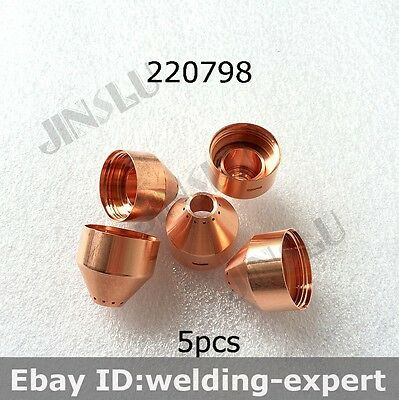 220798 5pcs Gouging Shield After Market Plasma Cutting Torch Consumables