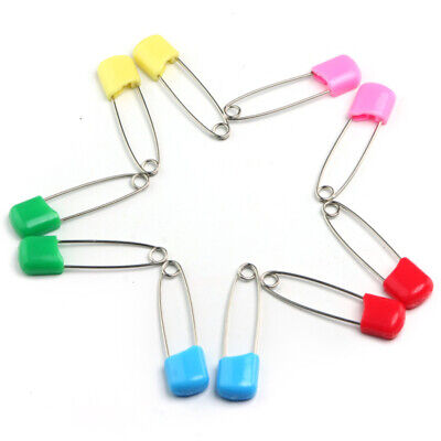 12pcs Safety Hold Locking Baby Cloth Nappy Diaper Pins