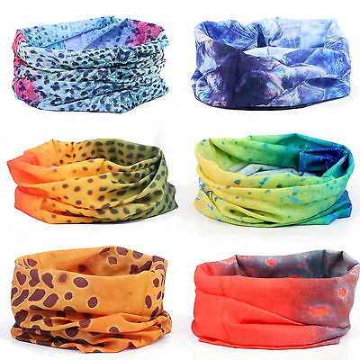 Fish Skin Fishing Headwear Scarf Bandana Fly Fishing Head/Hair band