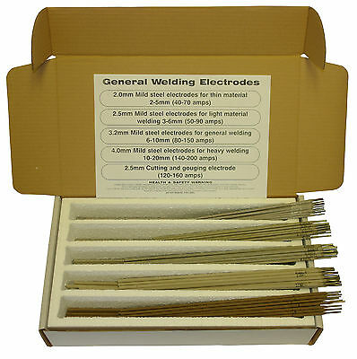 ARC MMA welding general purpose electrodes mixed maintenance kit 150 2 -4mm rods