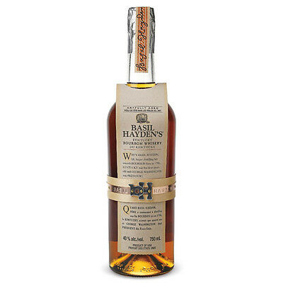 Basil Haydens Bourbon Whiskey 750ml