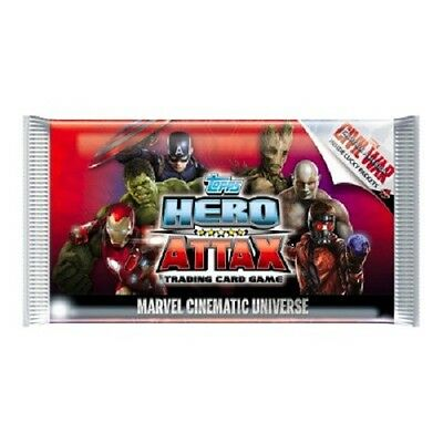 10x Topps Marvel Cinematic Universe Hero Attax Trading Card Pack