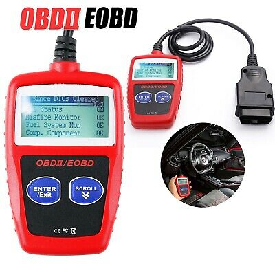 Car Fault Code Reader Engine Diagnostic Scanner Reset Tool OBD CAN 2 BUS EOBD UK