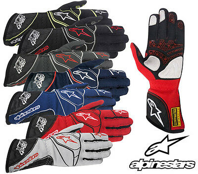 Alpinestars Tech 1-ZX Race Gloves FIA Approved, Oval Rally Autograss Racing SALE