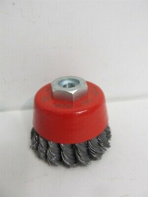 """Jaz 72059, 2 3/4"""" Cup Brush, Knotted Wire"""