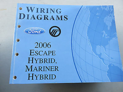 2006 06 ford escape hybrid mercury mariner hybrid wiring diagrams 2006 ford escape hybrid mercury mariner hybrid wiring diagrams
