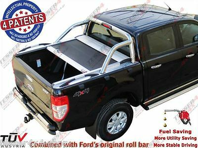 FORD Ranger LIMITED D/C ab 2016-> FACELIFTING ALU Laderaumabdeckung PICK UP