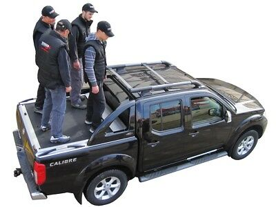 SsangYong Actyon Sport 2015> (Double Cab) PICK-UP Laderaumabdeckung ALU Selbstm