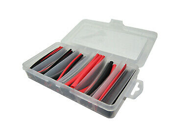 160 Piece Heat shrink Assortment Pack in Plastic Case