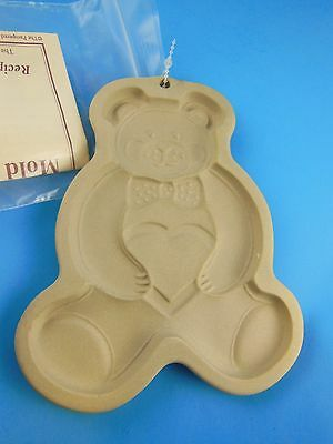 Pampered Chef  Teddy Bear Cookie Press Mold New