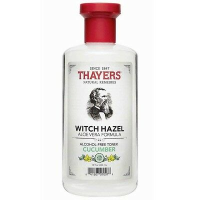 Thayers Witch Hazel Alcohol-Free Mens Skin Cleanser Toner Cucumber