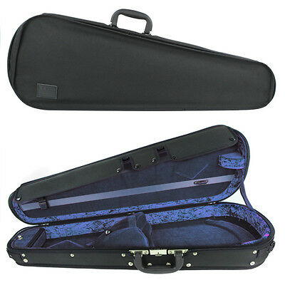 "GEWA Concerto Adjustable Viola Case for 15"" to 16.5"" Inch Viola Blue/Black"