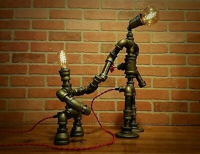 Big Brother Little Brother Table Lamp