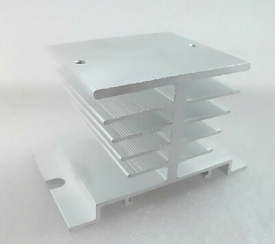 Aluminum Heat Sink for 10A-40A SSR Solid State Relay Small Heat Dissipation uk20