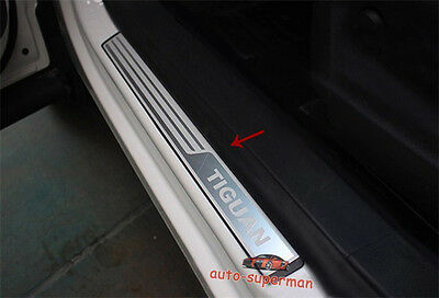 Door sill scuff plate For VW Tiguan 2009 2010 2011 2012 2013 2014 2015