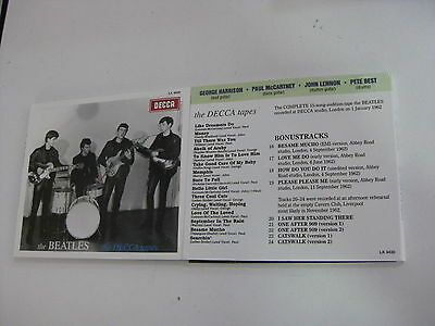 The Beatles Cd The Decca Tapes