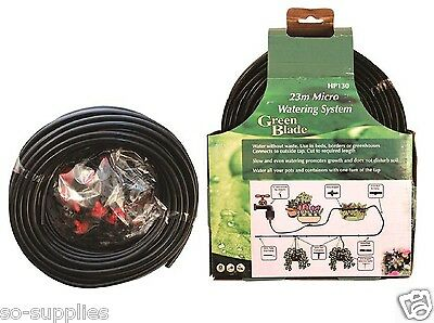 23M Micro Irrigation System 71Pc Automatic Garden Plant Greenhouse Watering Kit