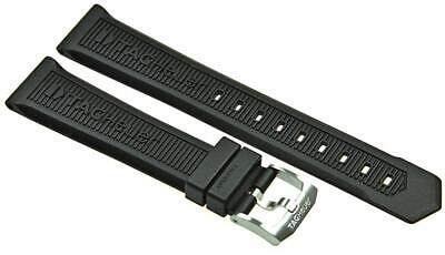 TAG Heuer rubber watch band with pin buckle New F1 Chronograph CAH111x, WAH111x