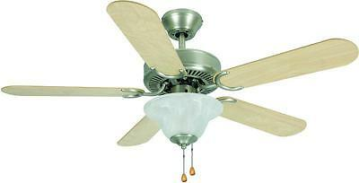 Hardware House Electrical 54-3587 Wyndham 42-inch Ceiling Fan Brushed Nickel