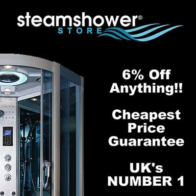6% off Voucher steam showers hydro & whirlpool baths at Poshh.co.uk