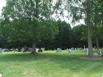Beautiful cemetery lot @ Calvary Church with big trees!!!
