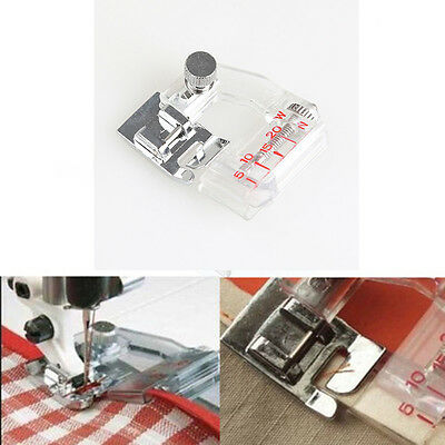 New Adjustable Binding Snap-on Bias Binder Foot For Domestic Sewing Machine Home