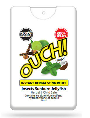 Ouch! 100% Organic Sting Relief Spray