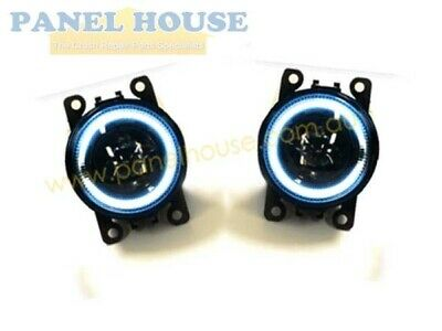 Set Fog Lights With Halo 1xLH 1xRH Holden Commodore VE 06-10 SS SV6