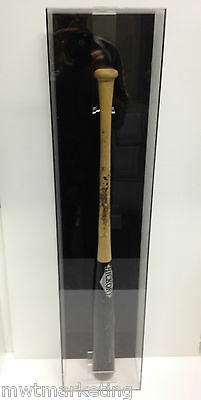 Baseball Bat Deluxe Display Case Acrylic Perspex : Signed Or Autographed
