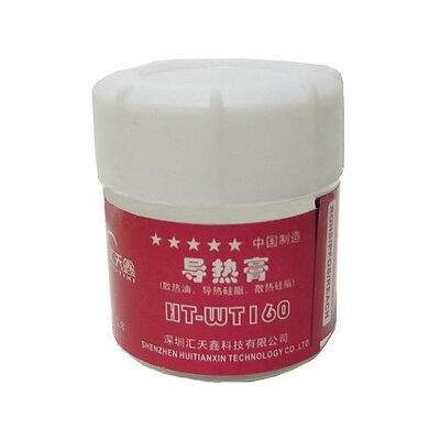 30g White Paste Cooling Silicone Conductive Grease Thermal For PC CPU