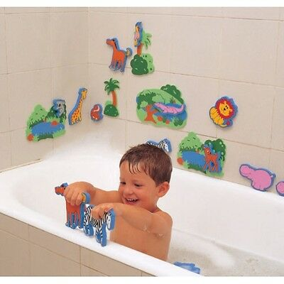 Bath Float Foam Zoo Jungle Animals (Tub Fun): Pretend Water Play Toy, Lion