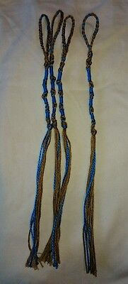 Home made set of Messianic Hebrew tzitzit, tassels, fringes