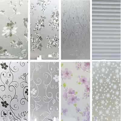 45*200CM Waterproof Frosted Privacy Bedroom Bathroom Window Glass Film Sticker