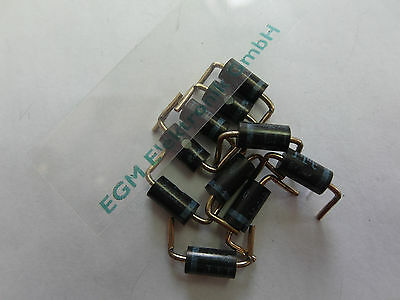 10x BY252 Rectifier Diode 400V 3A/4A DO201 R15mm, ITT (Lager C166)