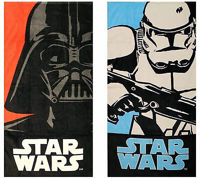 Star Wars Darth Vader Storm Trooper Beach Bath Towel 60x120cm Holidays Gym Pool