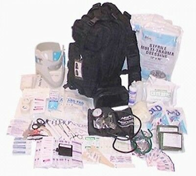 Fully Stocked Tactical Trauma Kit First Aid Kit Bag. Free Shipping