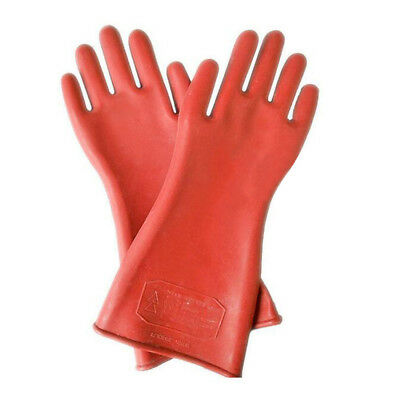 1 pair Work Protection Rubber Insulation Gloves 40cm 12kv