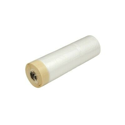 (0,25£/1m) Combi-Masking Tape with Dust Sheet 270cm x 16m DIY Tool