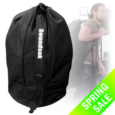 Travel Case Cover Bag for Large Speakers DJ Disco Universal Fitting