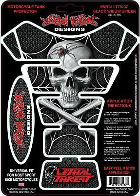 LETHAL THREAT Motorcycle Bike TANK PAD Protector ANGEL LT70136 TRANSPARENT