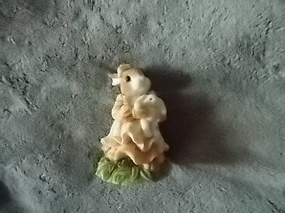 "My Blushing Bunnies Enesco Hillman 1995 ""You're A Blessing"" #157007 Dated 1995"