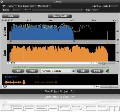 Synchro Arts VocALign Project 3 Upgrade from Non-iLok VocALign Project eDelivery