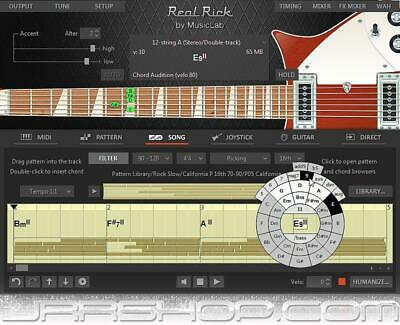 MusicLab RealRick Virtual Rickenbacker Electric Guitar Plugin eDelivery JRR Shop