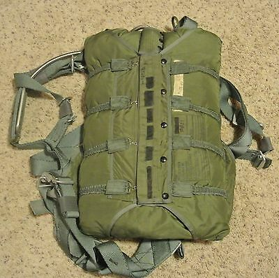 US Military Packed NB-8 Parachute