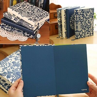 """""""Blue&White Porcelain"""" Classic Luxury Lines Diary Vintage Planner Journal #JP"""