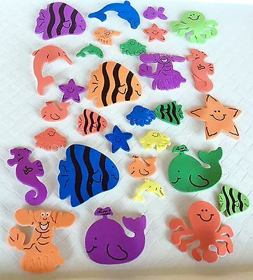 Under the Sea Foam Stickers