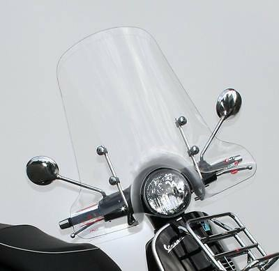 WINDSCREEN WINDSHIELD PIAGGIO VESPA GTS GT 125 200 250 300 ìe FITTING KIT INCLUD