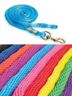 SHIRES TOPAZ LEAD ROPE horse pony pink green red blue orange yellow purple ALL C
